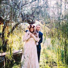 "Next on the ""Best of the best of #shareenbridal 2015: Her Beloved"" is Hillary&Dirk. Photo @ginyannweddings. Flowers @flowergirllosangeles. Venue @calamigos_ranch. #shareendotcom #bride #bridal #bohobride #bohemianwedding #bestof2015 #bestofthebest #commitment #herbeloved #husbandandwife #indiebride #indiewedding #love #marriage #nontraditionalbride #nontraditionalbridal #nontraditionalwedding #photo #wedding"