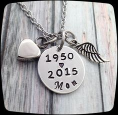 Cremation Jewelry, Memorial Urn Necklace, Memorial Jewelry, Remembrance, loss of father, loss of mom, Loss of Brother, Cremation Necklace  ♥▬▬▬▬▬▬▬▬▬♥ To Personalize ♥▬▬▬▬▬▬▬▬▬♥  ADD item to your cart....in the cart you will see a note box...in the note box type:  ♥Birth Year/At Rest Year (and initials if it is not mom or dad)  ♥Heart Urn is stainless steel ♥▬▬▬▬▬▬▬▬▬♥ Chain Upgrade ♥▬▬▬▬▬▬▬▬▬♥  If you are sensitive to metals this stainless steel chain may be a better option for you tha...