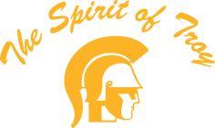 Press Pack Spirit of Troy Usc Trojans, Troy, Spirit, College, History, Logos, School, University, Historia