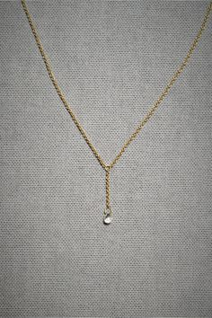 Delicate Briolette?  Yes every time!!!!! Diamond Briolette Necklace. $650.00