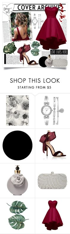 """""""Memoirs from the perfect autumn day..."""" by debjani-d ❤ liked on Polyvore featuring By Terry, Anne Klein, Wall Pops!, Gianvito Rossi, Valentino and INC International Concepts"""