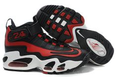 Nike Womens Griffeys Air Griffey Max 1 Black Red White