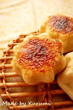 Cream brulee bread「幸せのクレームブリュレパン」くるみ | お菓子・パンのレシピや作り方【corecle*コレクル】