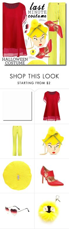 """Blonde"" by soks ❤ liked on Polyvore featuring Mira Mikati, Danielle Nicole, Lowie and Fendi"