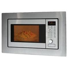 Bomann MWG 2215 EB steel · Built-in microwave, grill, 60 cm