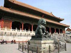 hubby's bucket list. the forbidden city, beijing, china.