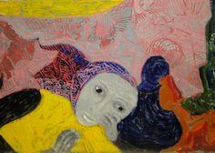 Violeta Parra Chile, Delicate, Teacher, Rustic, Painting, Colourful Art, Burlap, Cute, Paintings
