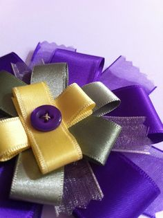 Instructions For Making Award Rosettes With Ribbon