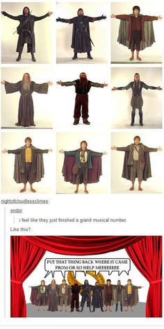 "When they put the Fellowship in a musical. | Literally Just A Bunch Of Really Funny ""Lord Of The Rings"" Tumblr Posts"