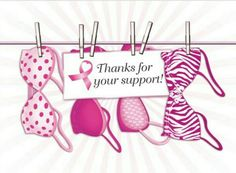 Pink Ribbon Thank You cards pcs) Breast Cancer Party, Breast Cancer Walk, Breast Cancer Awareness, Bilateral Mastectomy, Save The Tatas, Fundraising, Pretty In Pink, Thank You Cards, Place Card Holders