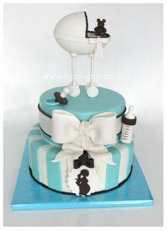 Geweldige taart van Bianca.