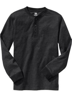 Boys Long-Sleeve Jersey Henleys Product Image
