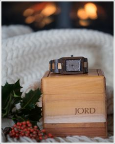 Jord Wood Watch  |  Gift idea for the man in your life.  25% off code in link.