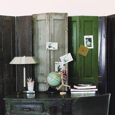 Old Door Room Divider Diy Crafty And Clever Pinterest
