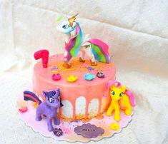 Little poney drip cake - cake by Suciu Anca