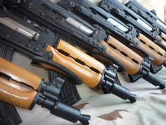 You're not bulletproof..., Zastava M92 A nice batch of freshly built M92's,...