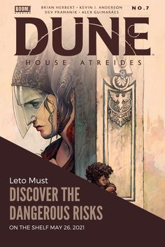 Boom! Studios Give Us Our First Look at Dune: House Atreides #7 — Constant Collectible Duncan Idaho, House Atreides, Legendary Pictures, Boom Studios, Geek Culture, Feature Film, Live Action, Dune