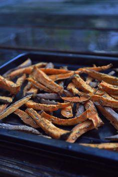 #sweet #potato #chips #fries # tasty #vegan #recipe #food #fitness