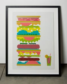 oh man i just love sandwiches, designed by Jamie Brown