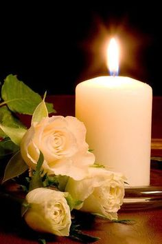Romantic Candles, Beautiful Candles, Best Candles, White Candles, Pillar Candles, Image Bougie, Good Night Beautiful, Wedding Greetings, Good Night Friends
