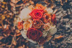 Boquet with autumn colours