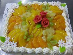Annen valmistama komea kakku tilaukseen!