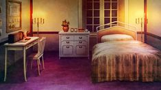 Episode Interactive Backgrounds, Episode Backgrounds, Anime Scenery Wallpaper, Anime Backgrounds Wallpapers, Medieval Bedroom, Fantasy Rooms, Fantasy Places, Casa Anime, Anime Places