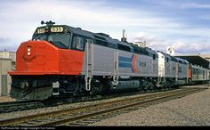 RailPictures.Net Photo: AMTK 535 Amtrak EMD SDP40F at Milwaukee, Wisconsin by Tom Farence