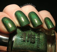 A England Dragon    I usually dont like green polish but this is the best green nail polish Ive ever seen!