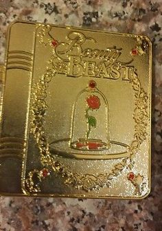 Disney DSF Beauty and the Beast Belle Enchanted Rose Storybook pin LE 300