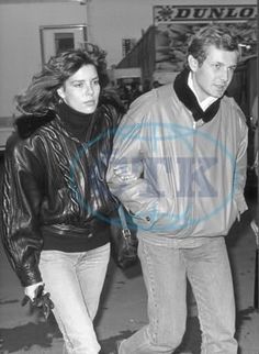 Princess Caroline and husband Stefano Casiraghi.