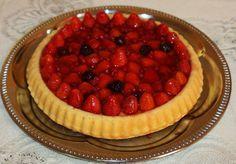 Gyümölcstorta - sütnijó! – Kipróbált sütemény receptek Food And Drink, Cake, Kuchen, Torte, Cookies, Cheeseburger Paradise Pie, Tart, Pastries