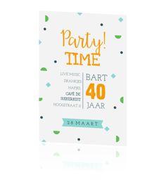 Uitnodiging Maken 40 Jaar