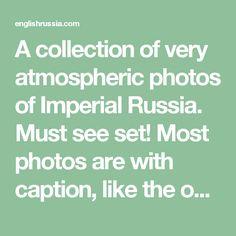 Een collectie van zeer sfeervolle foto's van het Keizerrijk Rusland. Must-see set! De meeste foto's zijn met bijschrift, zoals hierboven is: een uitgehongerde jaar in Nizjni Novgorod gouvernement 1891-1892 mensen kantine in dorp Pralevka van Lukoyanovsky County. 1891-1892.