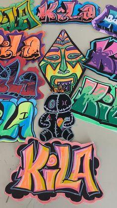 Cool Graffiti Letters, Wie Zeichnet Man Graffiti, Graffiti Piece, New York Graffiti, Graffiti Writing, How To Do Graffiti, Graffiti Artwork, Graffiti Wallpaper, Copic Marker Art