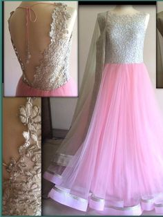 Pink Net Bollywood Replica Designer Party Wear Gown