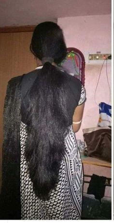 Indian Long Hair Braid, Long Hair Ponytail, High Ponytail Hairstyles, Braids For Long Hair, Long Hair Cuts, Bun Hairstyles For Long Hair, Best Long Haircuts, Long Hair Models, Beautiful Long Hair