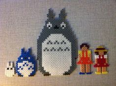My Neighbor Tototo and friends (Perler beads) - MISCELLANEOUS TOPICS