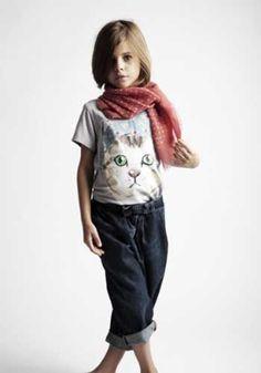 Vuelven las camisetas con motivos animales para dar un look naif a los niños - Smallable