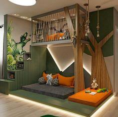 Cool Kids Bedrooms, Kids Bedroom Designs, Room Design Bedroom, Kids Room Design, Home Room Design, Bedroom Themes, Bedroom Decor, Amazing Bedrooms, Kid Bedrooms