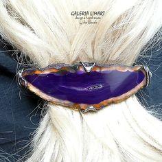 Hairpin, miracle agate. GIFT luxury. Real hand made. // Spinka do włosów, cud agatu. PREZENT lux. Prawdziwy hand made :)