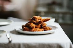 Chicken Tenders with Apple Cider Sweet and Sour Sauce