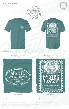 Alpha Gamma Delta | Delta Tau Delta | Oyster Roast | South by Sea | Sorority Shirts | Sorority Tanks | Greek Shirts | TShirt Ideas | Tee Shirt Ideas