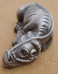 Arredamento D'antiquariato Collection Here Enorme Statua Bronzo Meiji Elefante E Due Tigri Japan 1900 Tigers Giapponese