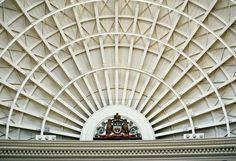 The Leeds coat of arms. Leeds Corn Exchange, Beautiful Buildings, Coat Of Arms, Hollywood, Outdoor Decor, Family Crest, The Sentence