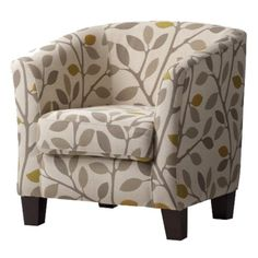I've had my eye on this chair for about a month now. Of course it will force me to redesign my entire living room (including paint). Why is Target so perfect?