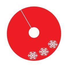 No-Sew Christmas Tree Skirt Tutorial - Simple Simon and Company Xmas Tree Skirts, Diy Christmas Tree Skirt, Felt Christmas, Christmas Angels, Christmas Decor, Christmas Crochet Patterns, Crochet Ornaments, Crochet Snowflakes, Crochet Christmas
