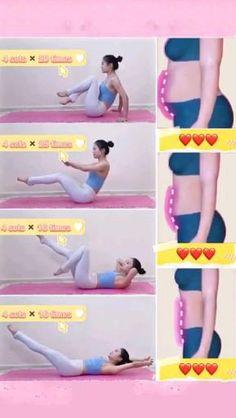 Body Weight Leg Workout, Full Body Gym Workout, Gym Workout Videos, Abs Workout Routines, Gym Workout For Beginners, Waist Workout, Gym Workouts, Gymnastics Workout, Flexibility Workout