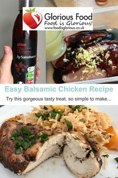 What are you eating today? This IBS free meal is super easy to make. And includes a handy cheat that doesn't affect my IBS symptoms. Yum! #motivation #mondaymorning #foodie #health #pinterestrecipe #yum Balsamic Chicken Recipes, Balsamic Vinegar Chicken, Ibs Flare Up, Ibs Bloating, Ibs Relief, Ibs Symptoms, Free Meal, Pinterest Recipes, Kitchens