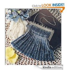 Cobalt Knitted Silk Purse Pattern -Vintage 19th Century Knitting Pattern (Spanish Edition)